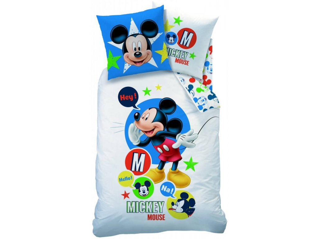 disney mickey mouse expressions duvet single 140 x
