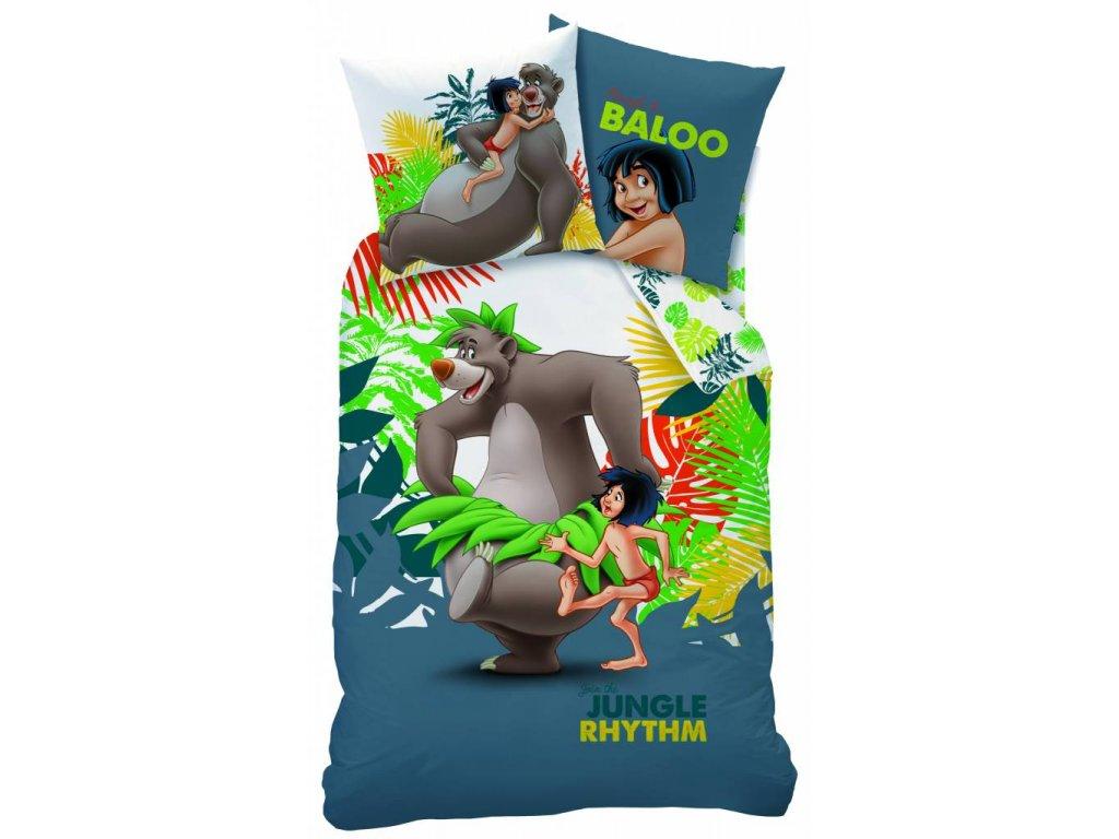 jungle book jungle rhythm duvet single 140 x 200 c