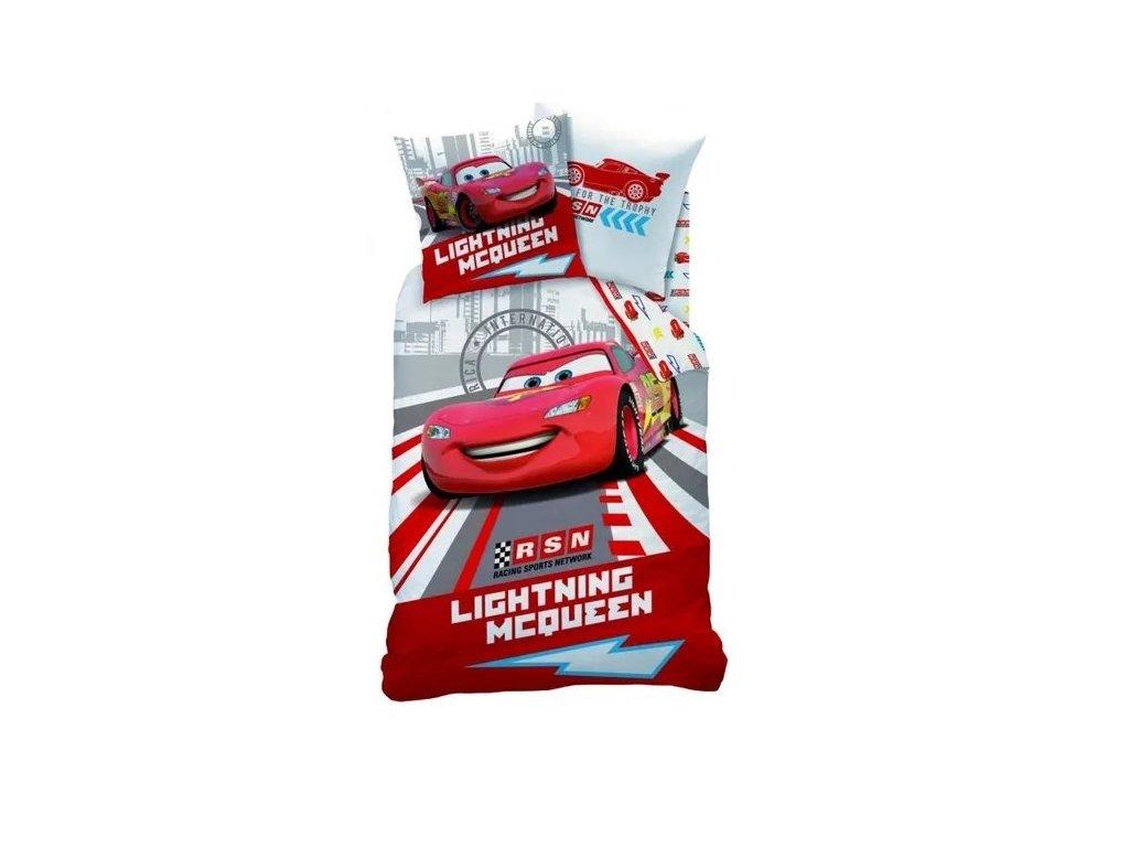 11508 cti detske povleceni cars race 140x200 63x63