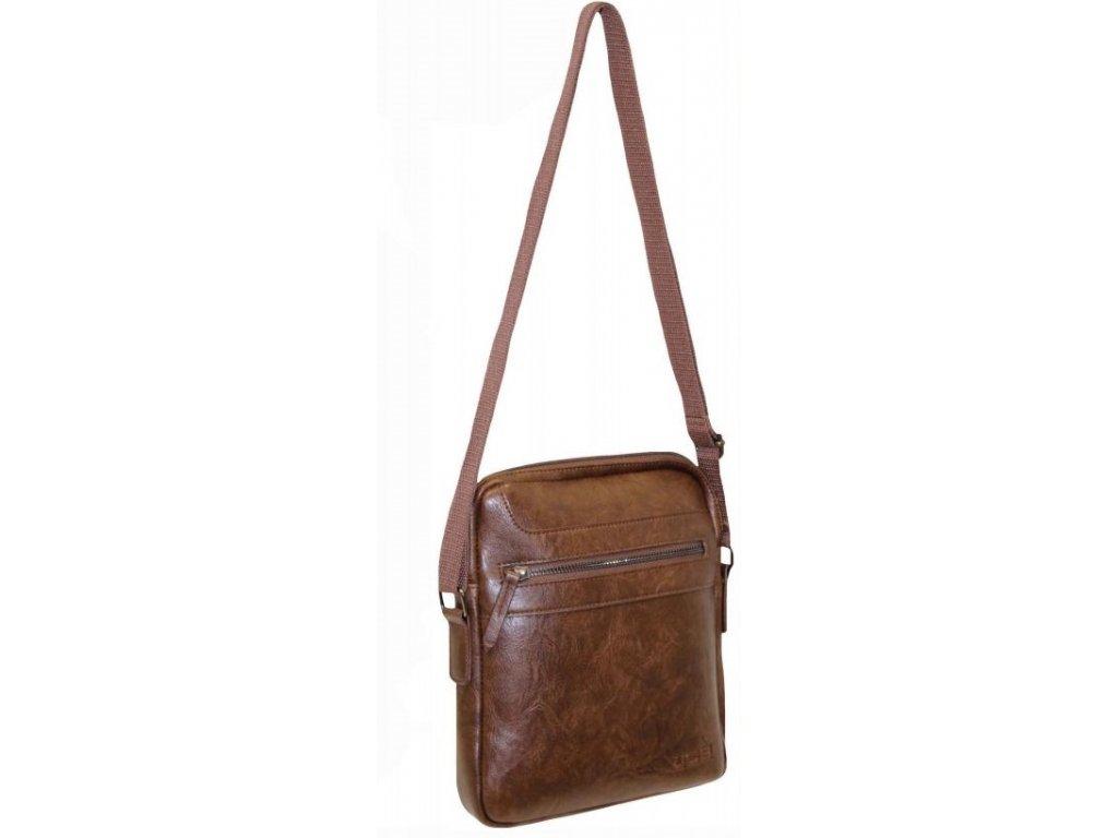 Pánská taška přes rameno JCBCB 29 HNĚDÁ