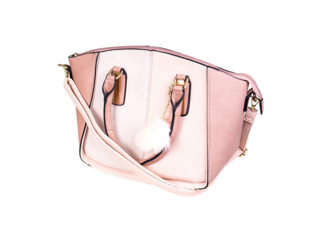 Luxusní kabelka JBFB 249 RŮŽOVÁ