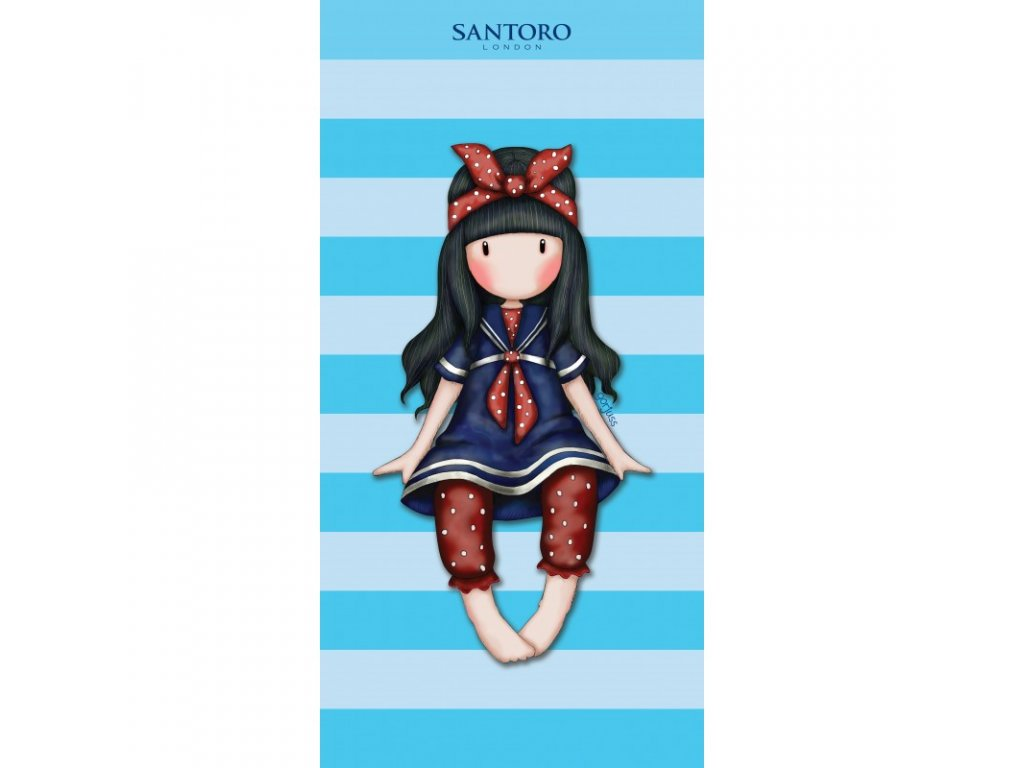 Halantex osuška SANTORO modrá 70x140cm