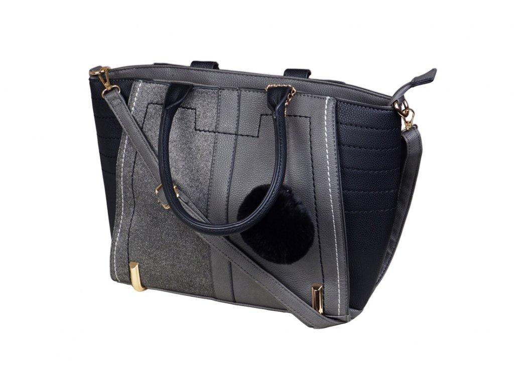 Luxusní kabelka JBFB 244 ČERNÁ