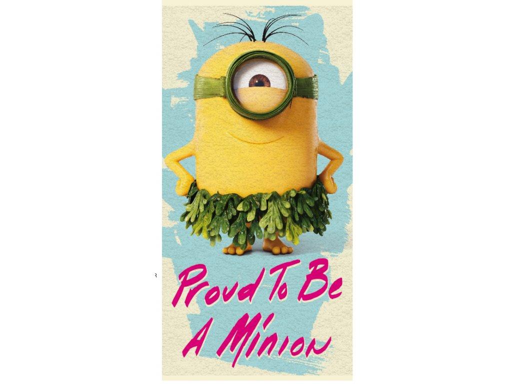 Minions Beach Towel 012