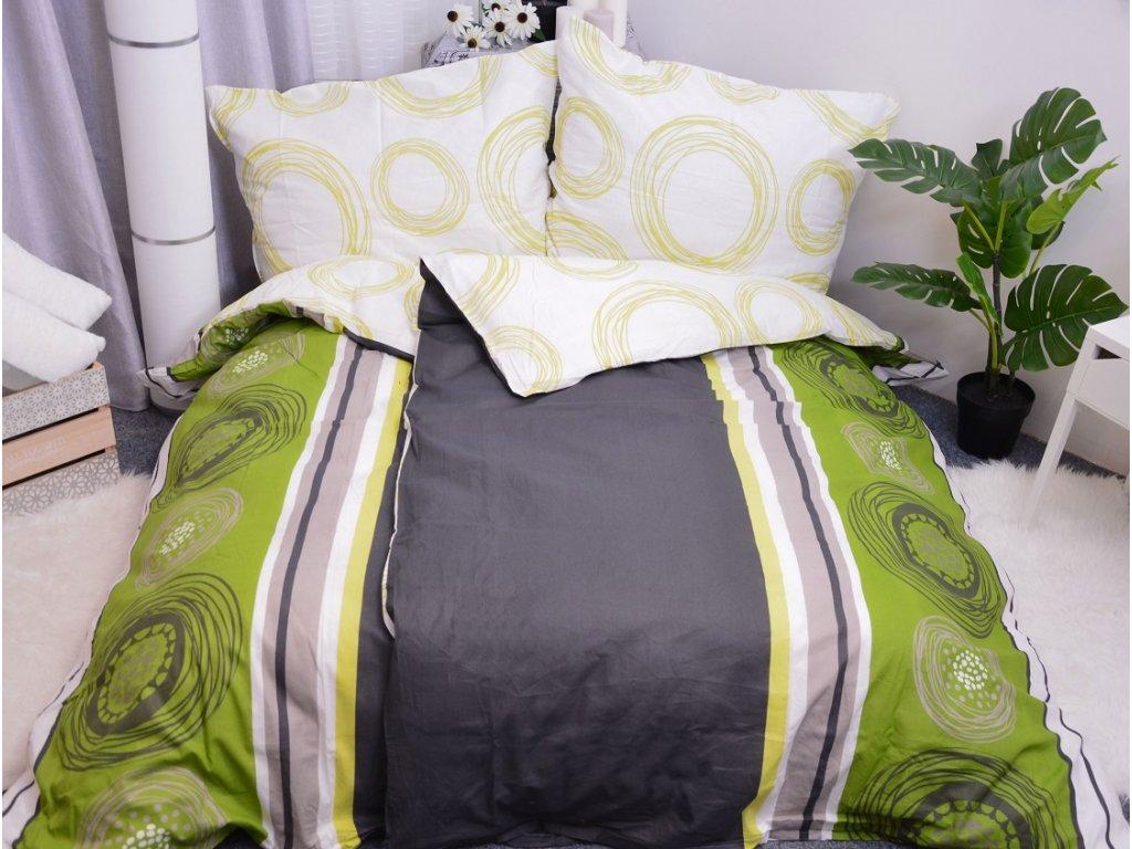 23126 1 aaryans bavlnene povleceni fanny zelene 140x200 90x70cm