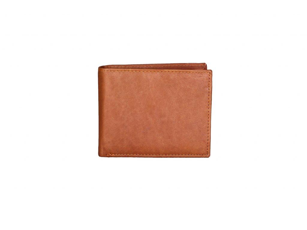 Kožená peněženka 101W TAN