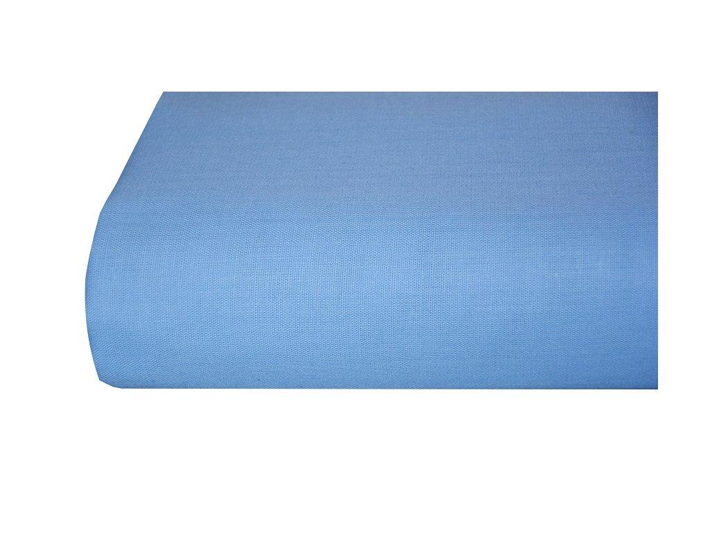 Aaryans Bavlněná plachta, prostěradlo 140x225 cm modré