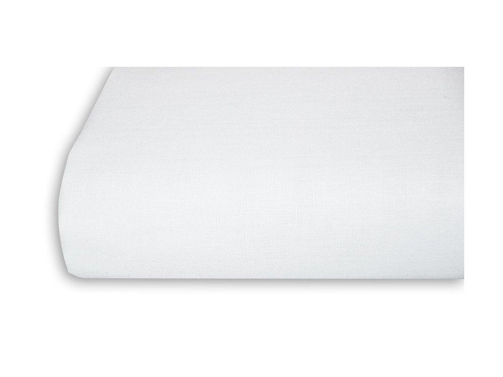 Aaryans Bavlněná plachta, prostěradlo 140x225 cm bílé