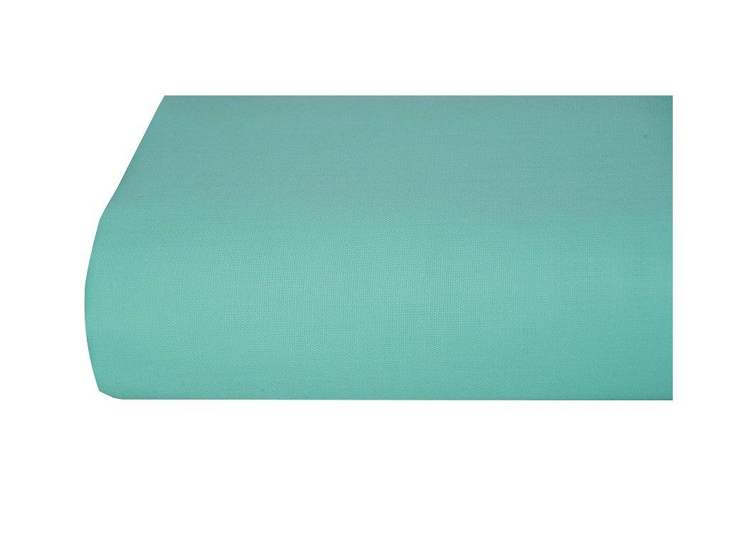 Aaryans Bavlněná plachta, prostěradlo 140x225 cm tyrkysové