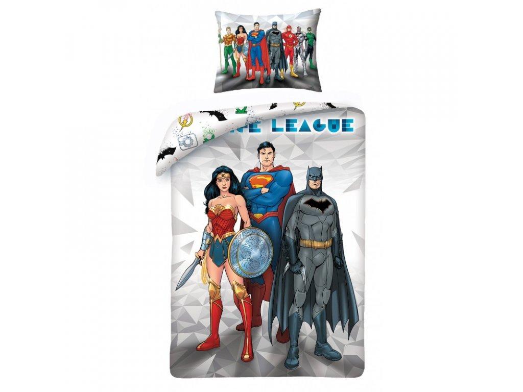 Halantex povlečení Liga Spravedlnosti ( Justice League)140x200 70x90  batman superman