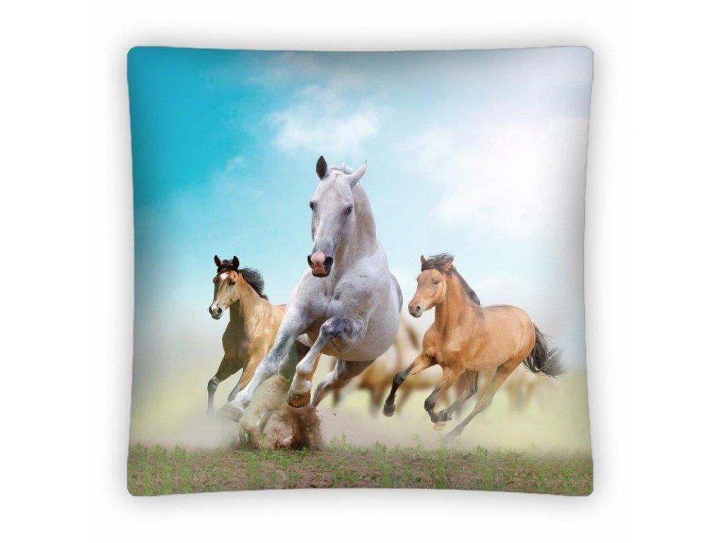 Polštář Horses PS0011 40x40cm