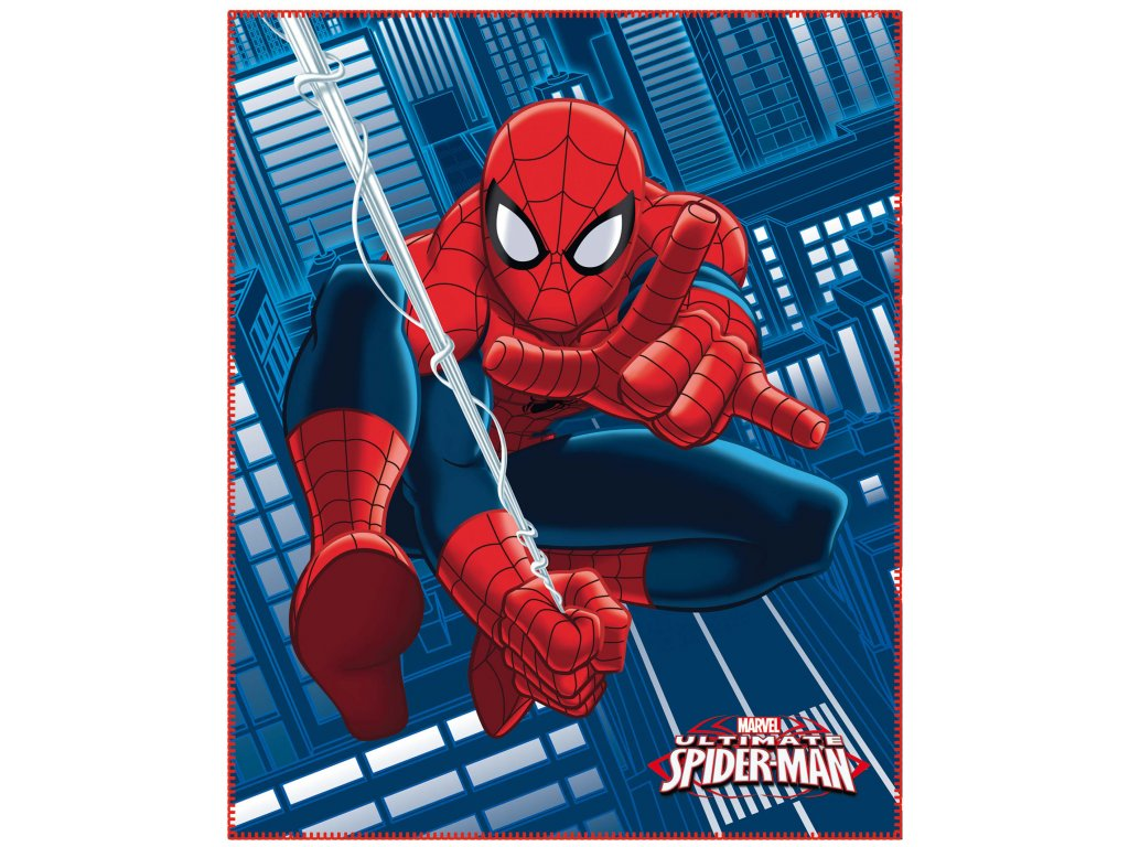 SPIDERMAN JUMP plaid
