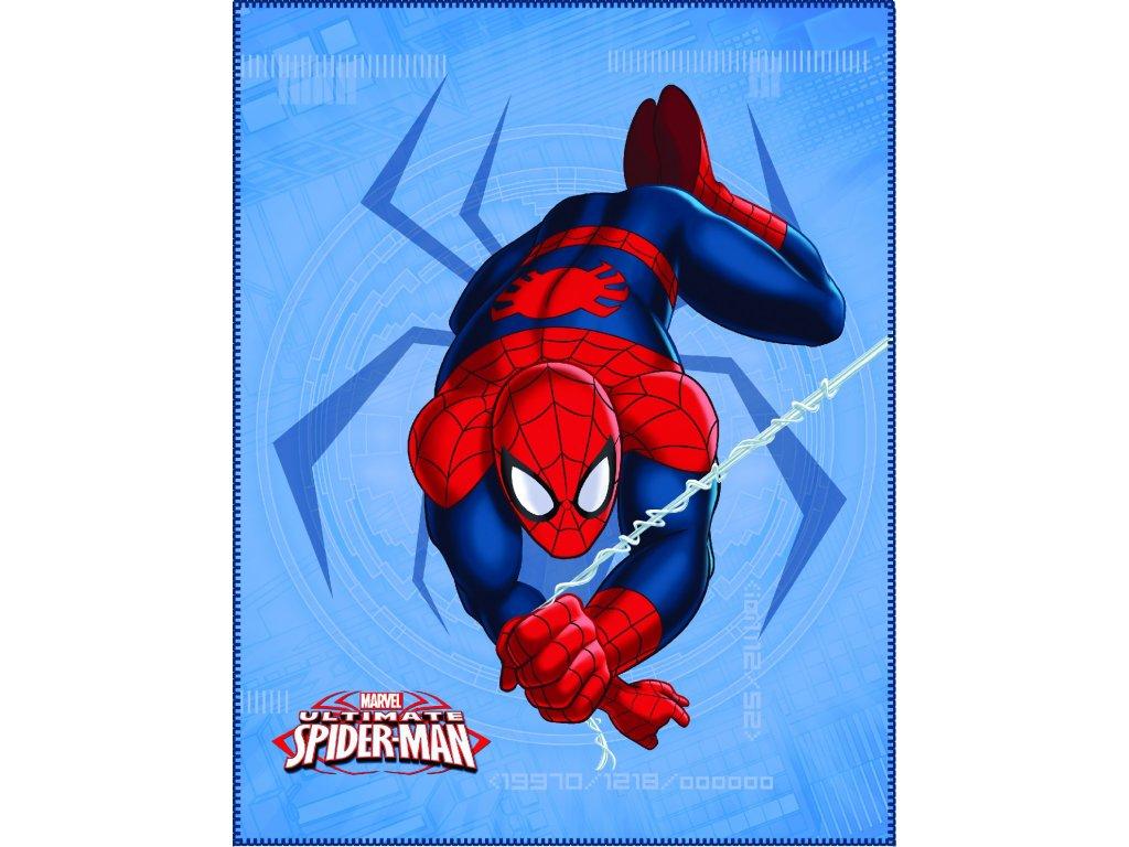 Dětská fleecová deka SPIDERMAN SPIDER 110x140 cm