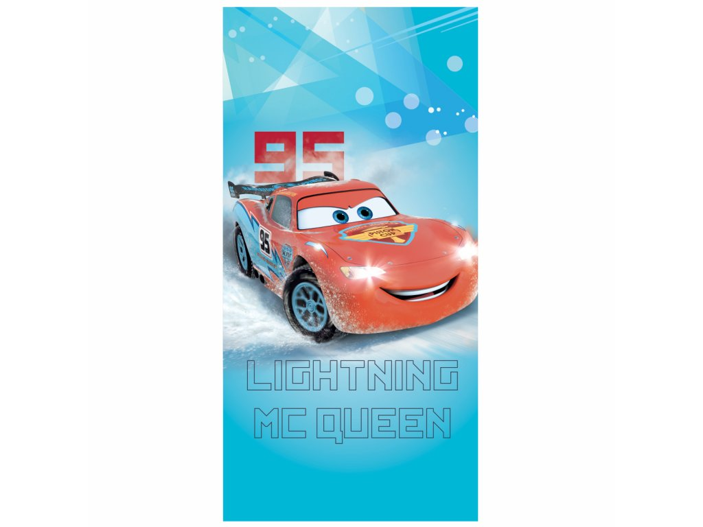 CARS ICE RACER plage 75x150