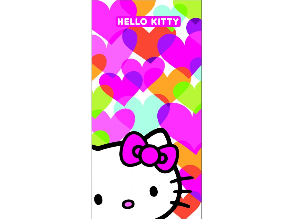 HELLO KITTY MIMI LOVE plage 75x150