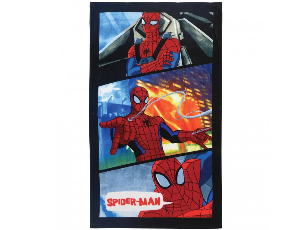 SPIDERMAN POWER plage 70x120