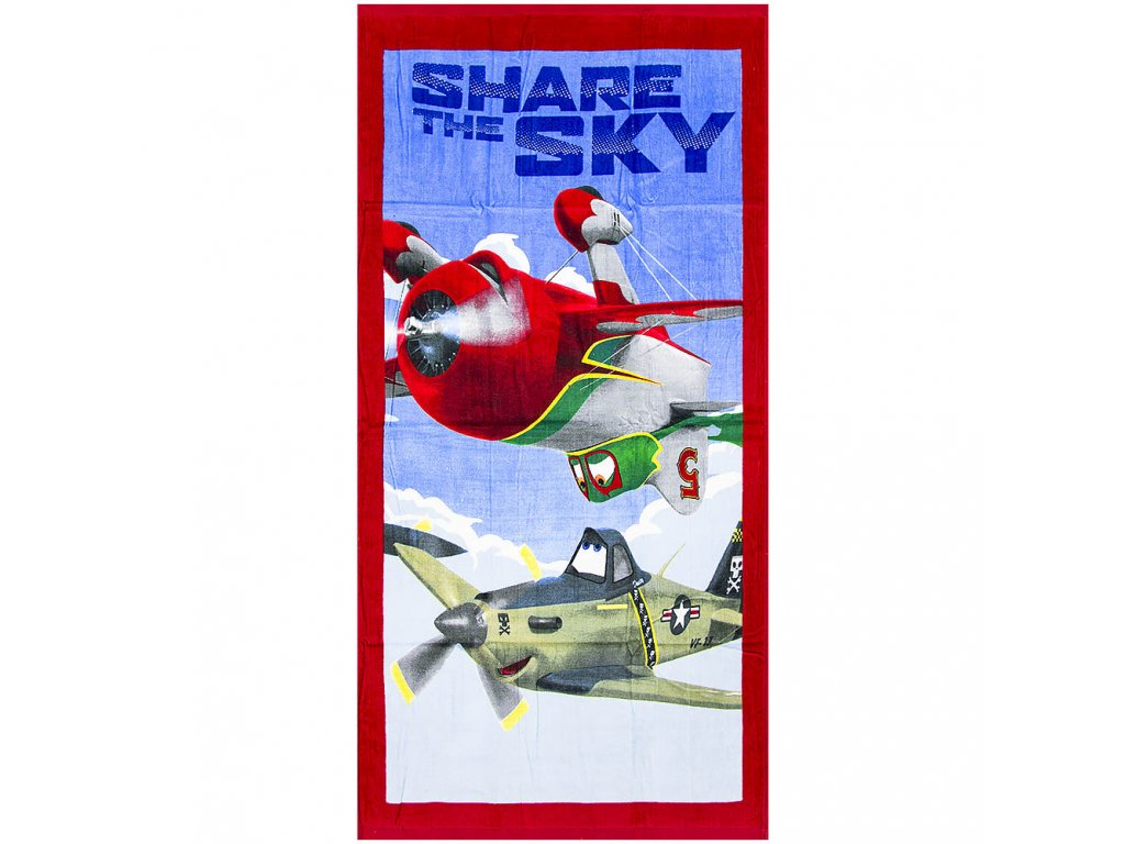 b92325 disney planes beach towel for kids wholesale supplier