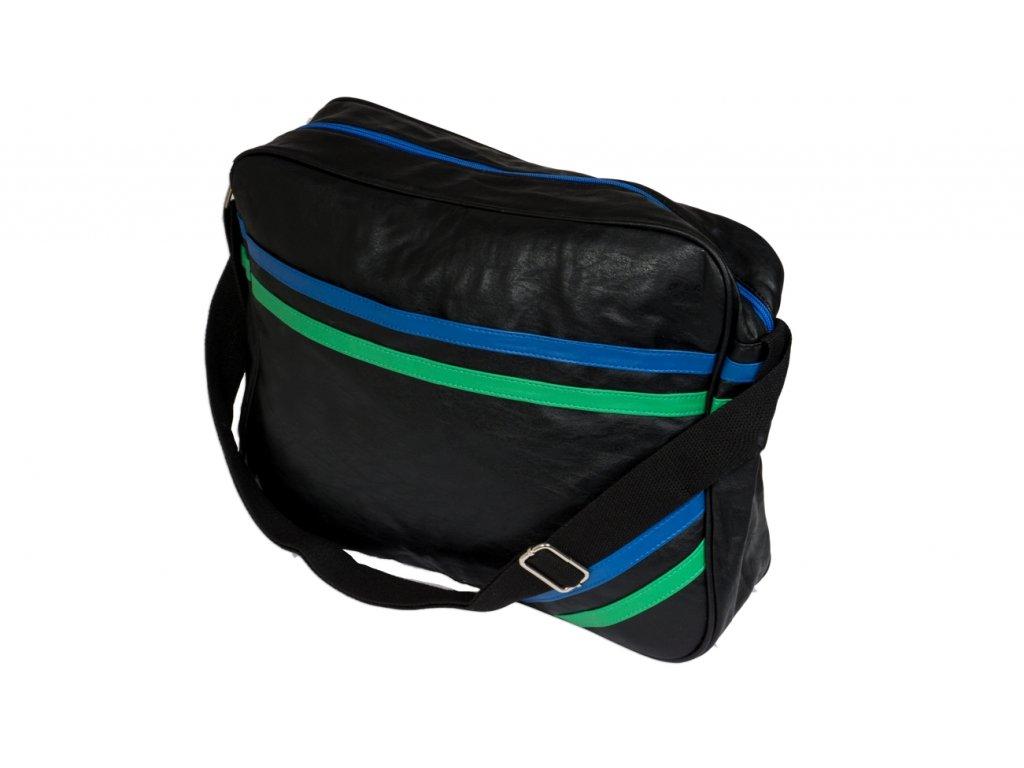 Taška přes rameno JBCB 31 černá/černá