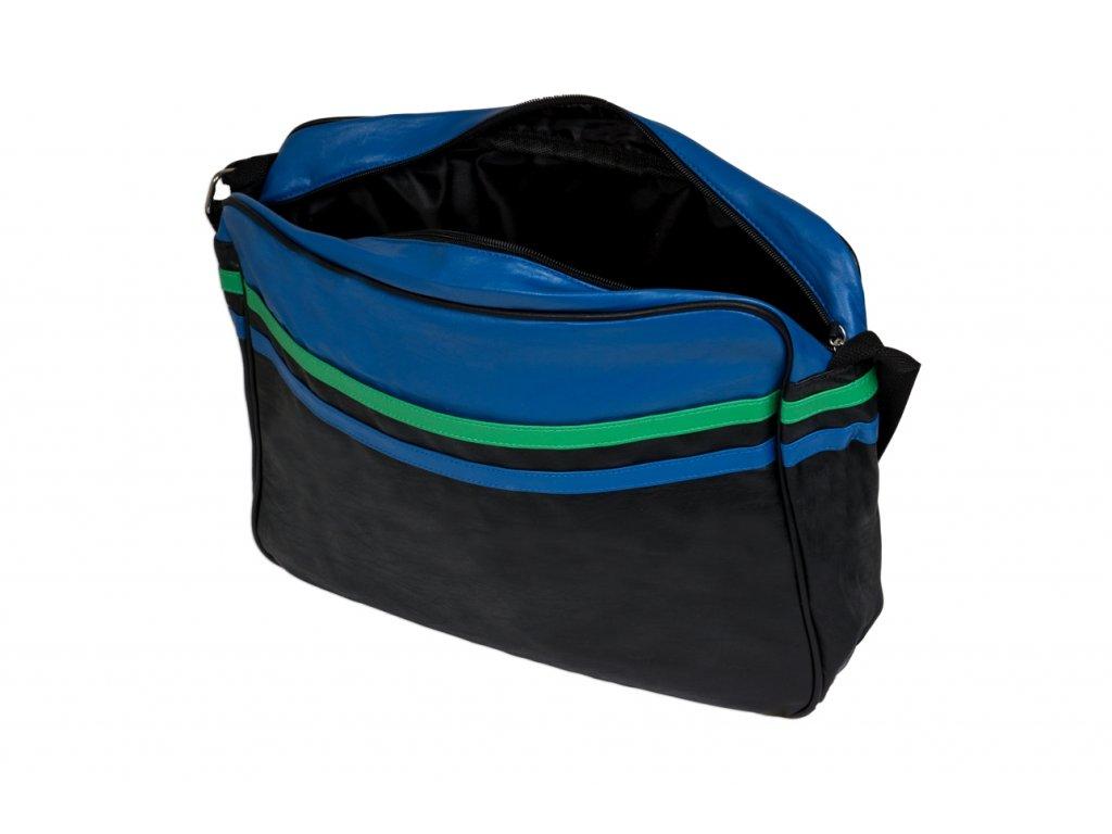 Taška přes rameno JBCB 31 modrá/černá