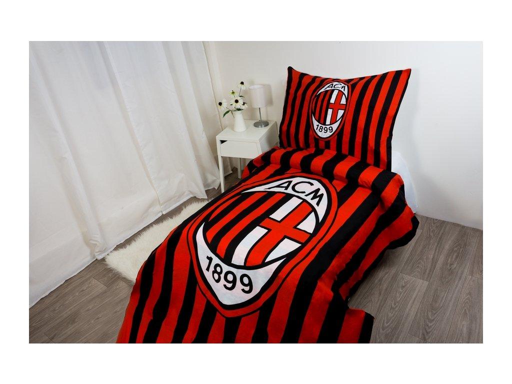 Povlečení A.C.Milan 140x200x70x80