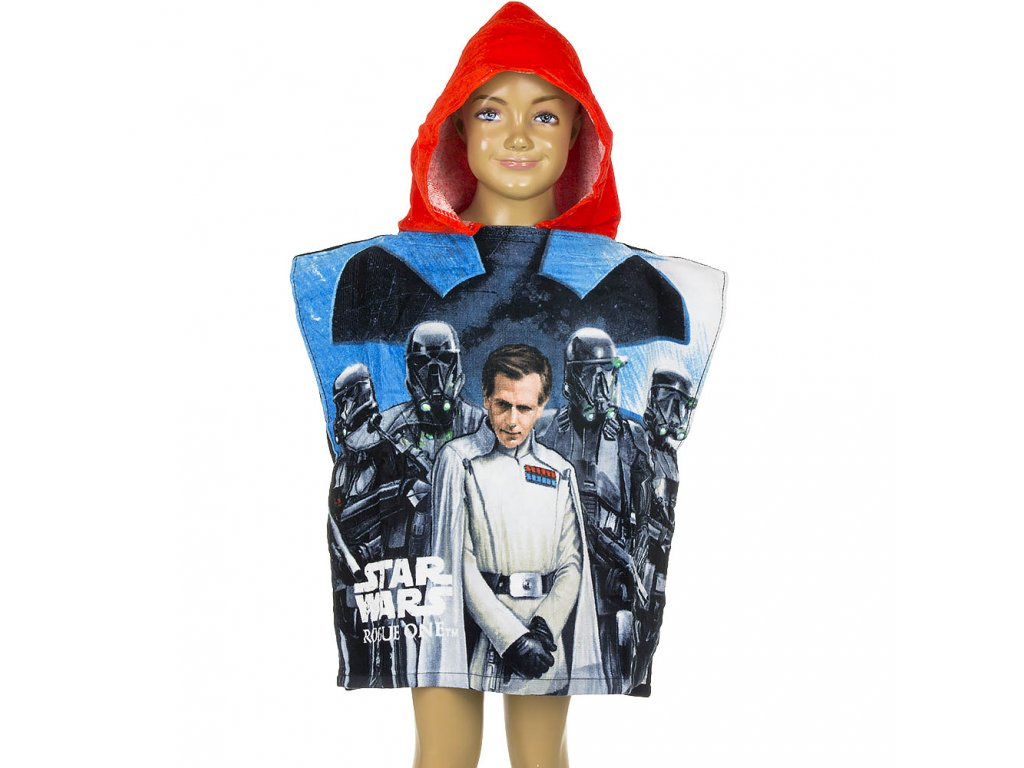 qe1781 wholesale star wars rogue one poncho for kids copy