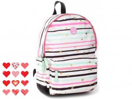 10233 1 skolni batoh milky kiss forever happy va8774