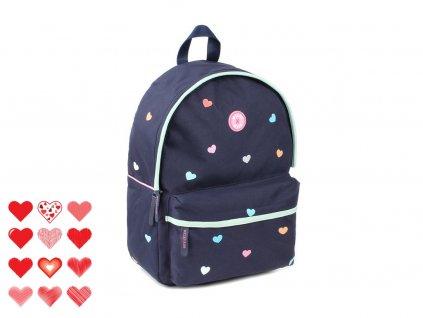 10239 1 skolni batoh milky kiss candy shop navy va9336