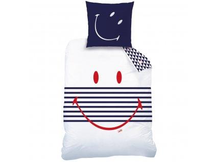 SMILEY MARINE linge de lit junior