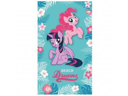 MY LITTLE PONY TROPICAL plage 70x120