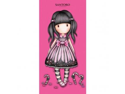 Halantex osuška SANTORO růžová 70x140cm