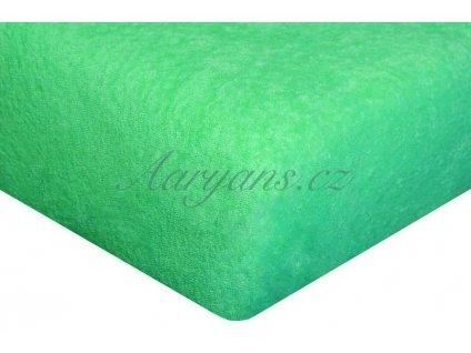 1590 detske prosteradlo frote 60x120 cm zelene