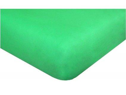 1644 detske prosteradlo jersey 60x120 cm pastelove zelene