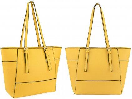 Elegantní kabelka JBFB 266 žlutá