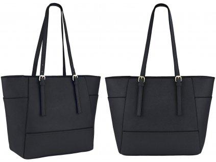 Elegantní kabelka JBFB 266SET černá