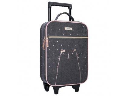 Dětský kufřík na kolečkách Starstruck Cat