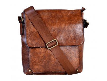 Pánská taška přes rameno JCB 30 HNĚDÁ