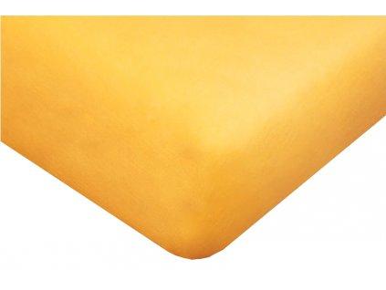 24071 1 detske prosteradlo jersey 60x120 cm zlute