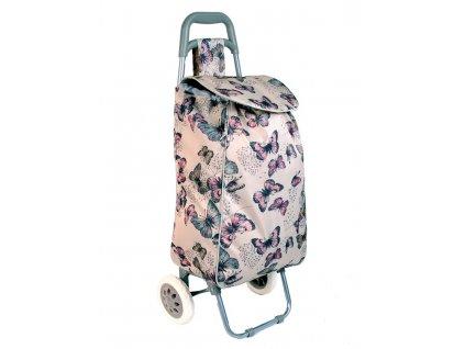 Nákupní taška na kolečkách JBST 06 MOTÝL