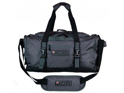 Sportovní taška JCB 004 S ŠEDÁ