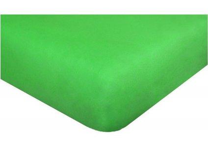24467 detske prosteradlo jersey 60x120 cm svetle zelene