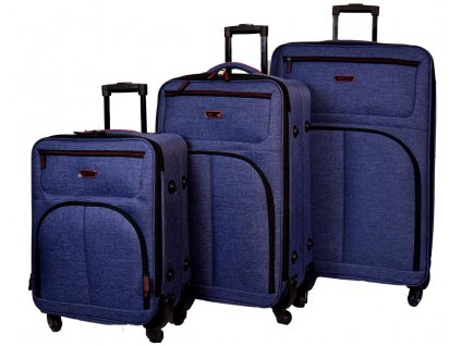 24473 sada 3 super lehkych kufru jb 2034 cerveno modry