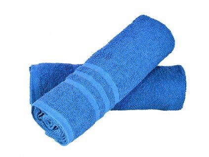 Sada ručníků Basic 2 ks - modrá