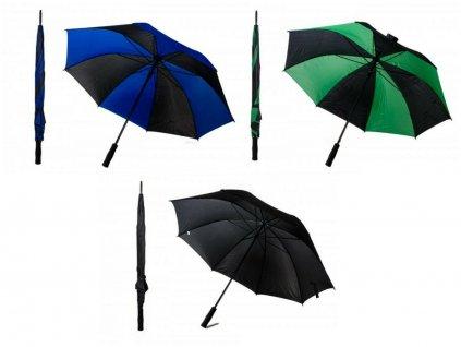 Pánský deštník JBUMB 13 ČERNÁ/BORDÓ