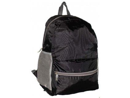 Dámský skládací batoh A4 3109 ČERNÝ