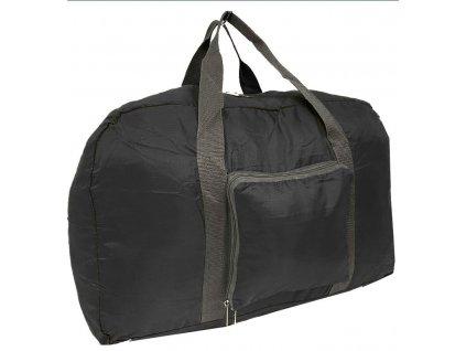 Univerzální skládací cestovní taška 3106 ČERNÁ