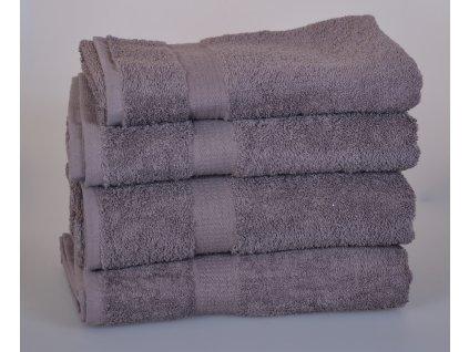 Froté ručník SPRING , 50x100 cm, tmavě šedá