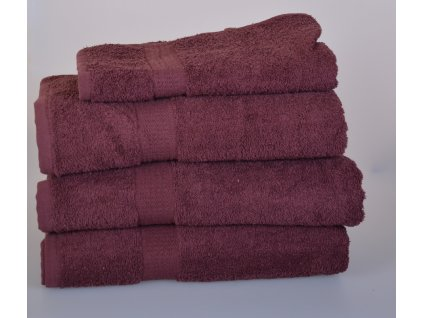 Froté ručník SPRING , 50x100 cm, hnědá