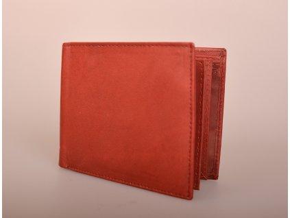 Kožená peněženka 101W RED/BROWN