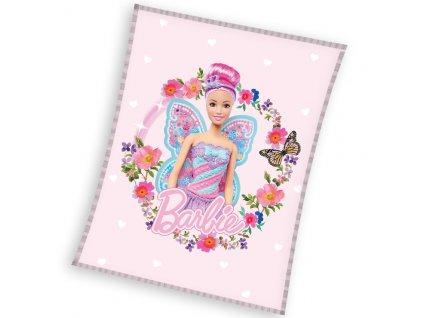 Detska deka Barbie Motyli Vila BARB203060