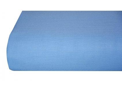 3240 1 aaryans bavlnena plachta prosteradlo 140x225 cm modre